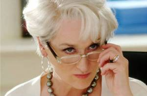"Miranda Priestly in ""Devil Wears Prada"""
