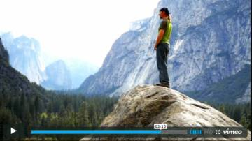 Shawn Reeder in Yosemite