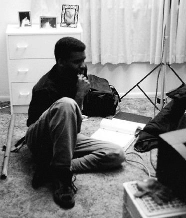 On the set of my 1995 short film