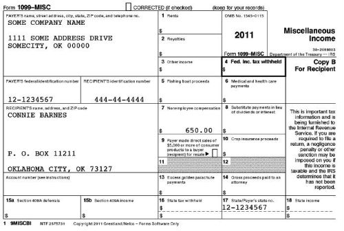 2013 Form 1099 Misc Employees And Contractors And Tax Forms Oh My ...