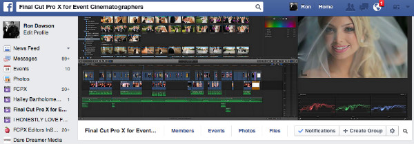 FCPX Facebook Group