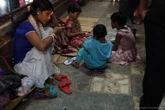 Even on the streets of Kolkata, kids are buried in their cell phones.
