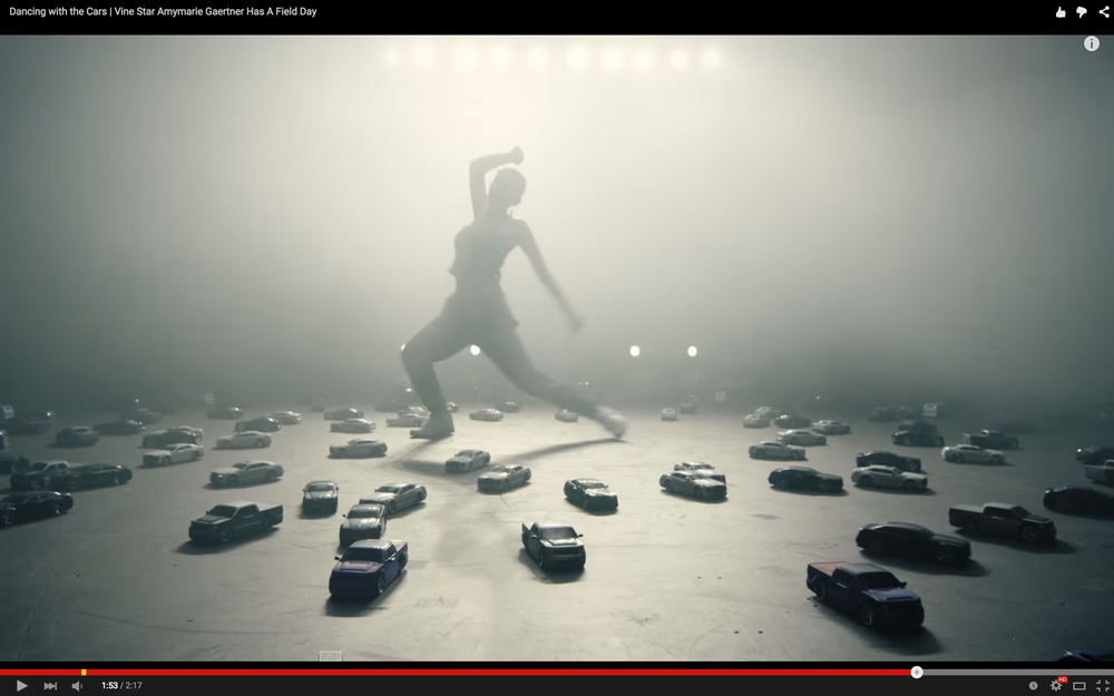 "Scene from ""Field Day"" video ""Dancing with Cars"""