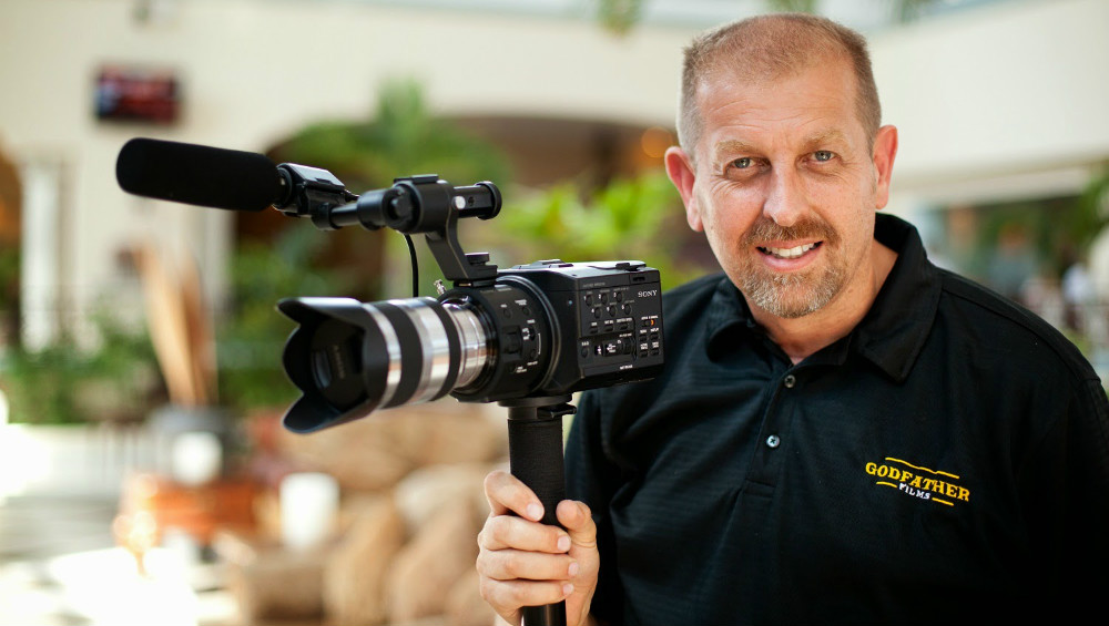 John has built a multi-million dollar business and travels the world shooting events and corporate videos.